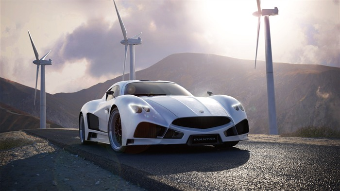 Mazzanti Evantra V8 Supercar HD Wallpaper Views:10632