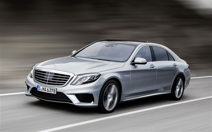 Mercedes-Benz S63 AMG Cars HD Wallpaper Views:7719