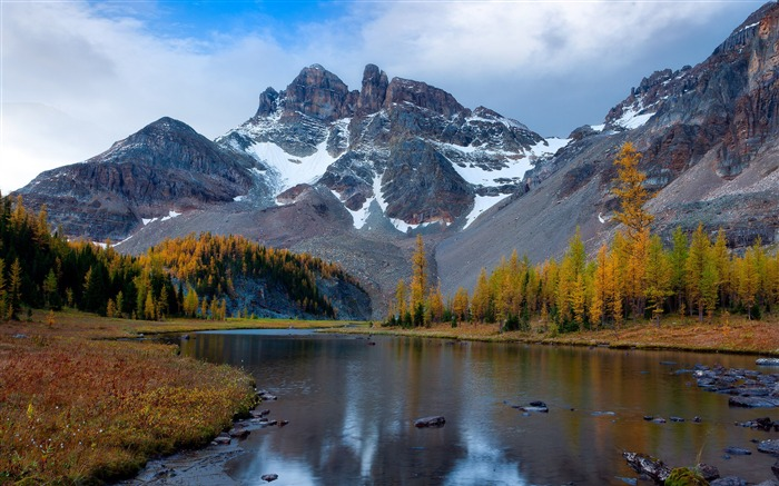 Mount Assiniboine Park Landscape HD wallpaper Views:6940