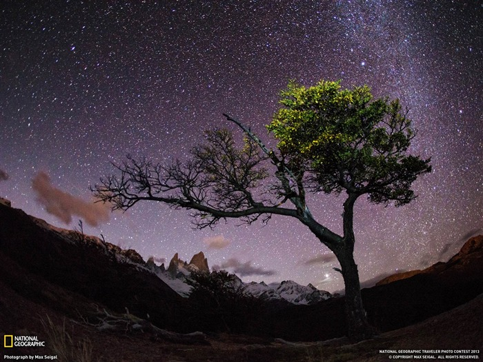 Night Sky Patagonia-National Geographic wallpaper Views:5562