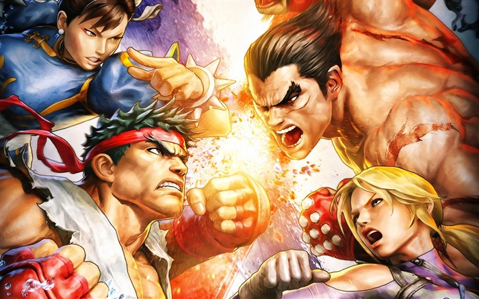 Street Fighter X Tekken video game wallpaper Views:6049