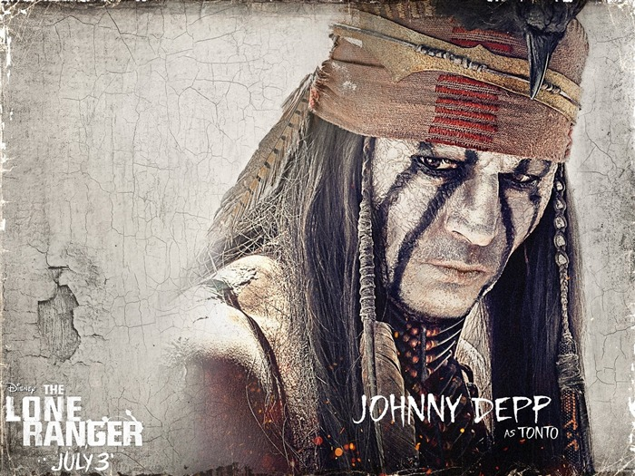 TONTO-The Lone Ranger Movie HD Wallpaper Views:3477
