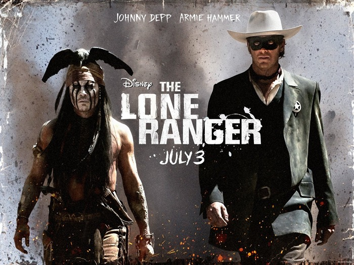 The Lone Ranger Movie HD Wallpaper 02 Views:3140