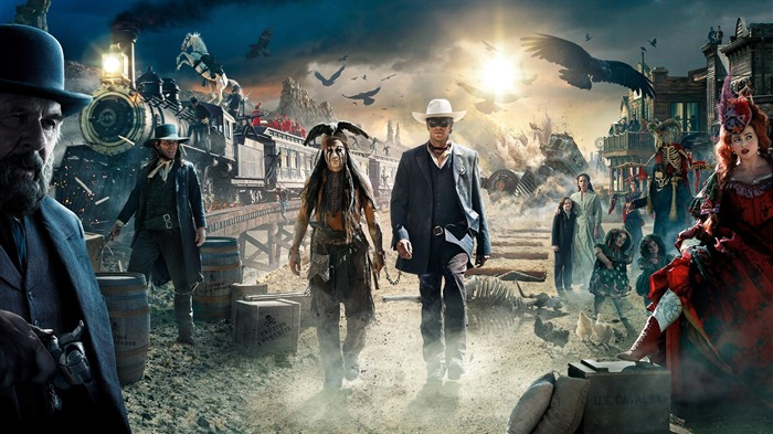 The Lone Ranger Movie HD Wallpaper 03 Views:2997