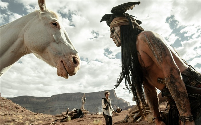 The Lone Ranger Movie HD Wallpaper 13 Views:3320