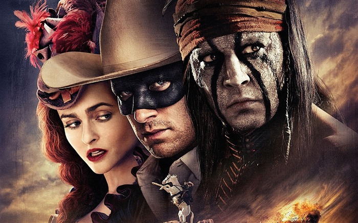 The Lone Ranger Movie HD Desktop Wallpaper Views:8194