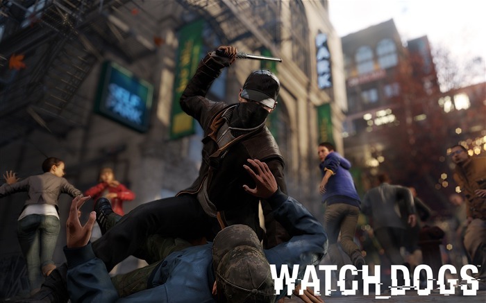 Watch Dogs 2013 Game HD Desktop Wallpaper Views:12581