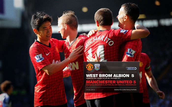 FA Premier League Manchester United 2012-13 season Wallpaper Views:7107