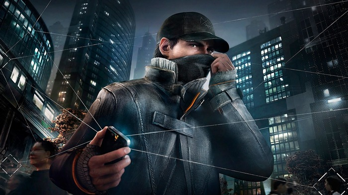 aiden pearce in watch dogs-HIGH Quality Wallpaper Views:4509