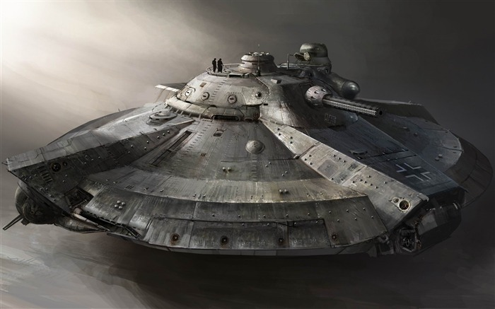armored flying ship-Military Widescreen Wallpaper Views:6454
