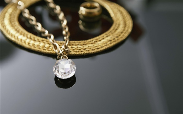 chain gold diamonds-June HIGH Quality Wallpaper Views:5346