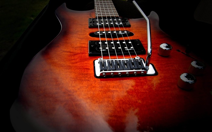 electric guitar strings-Music theme wallpaper Views:5523