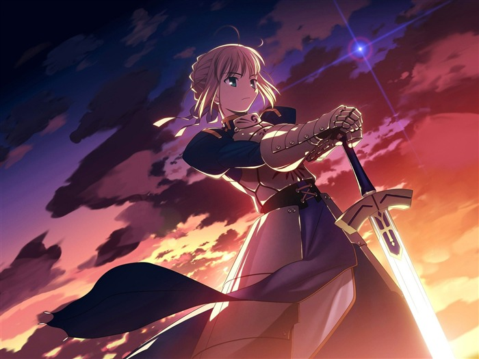 fate stay night saber-Anime HD Wallpaper Views:13099