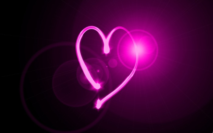 heart neon light-Abstract design wallpaper Views:5152 Date:7/7/2013 10:54:17 PM
