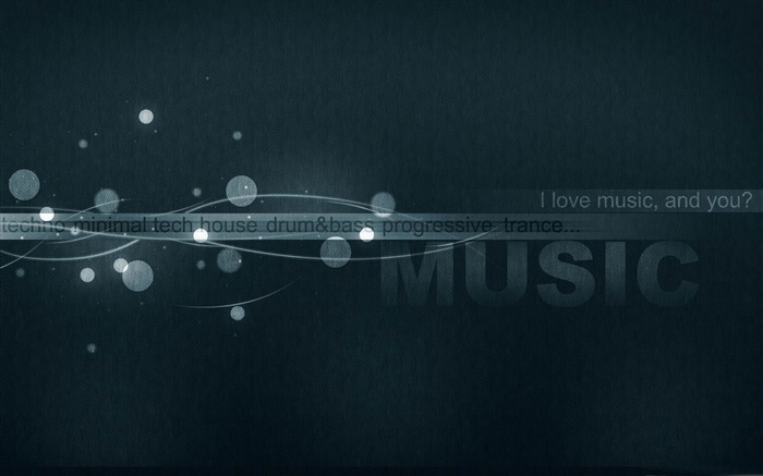 i love music-Music theme wallpapers Views:8284