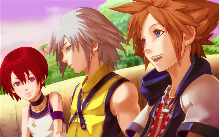 kingdom hearts-Anime HD Wallpaper Views:6065