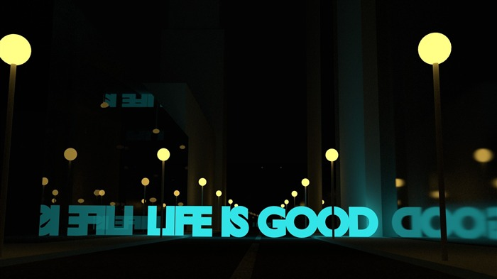 life is good-Abstract design HD wallpaper Views:2794