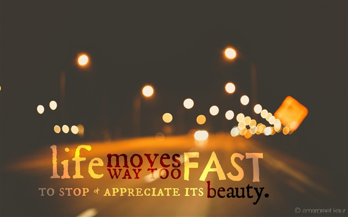 life moves too fast-Abstract design HD wallpaper Views:4005