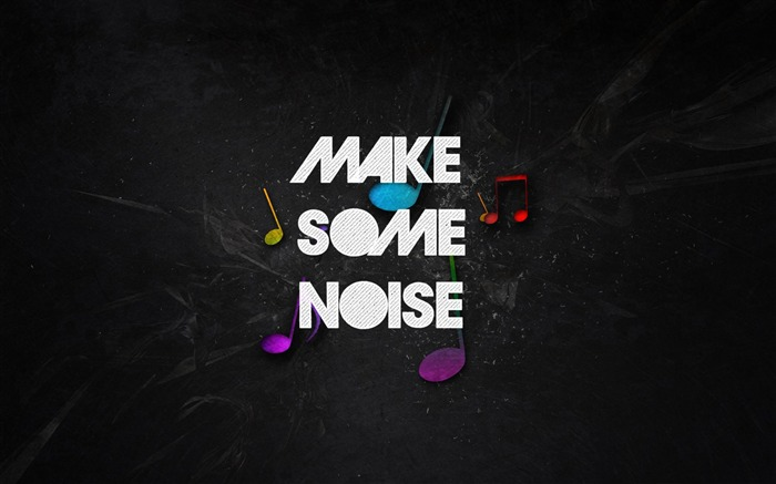 make some noise-Music theme wallpapers Views:4547