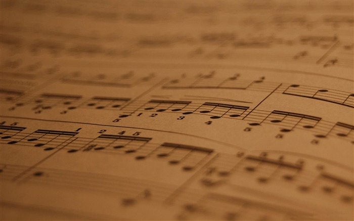musical score-Music theme wallpapers Views:10415