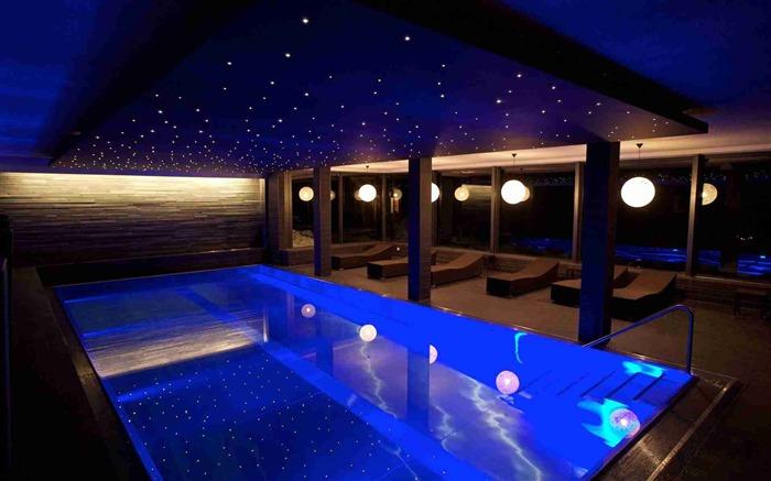 pool room evening interior-June HIGH Quality Wallpaper Views:4517