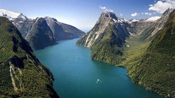 river in new zealand-Beautiful scenery wallpaper Views:24150