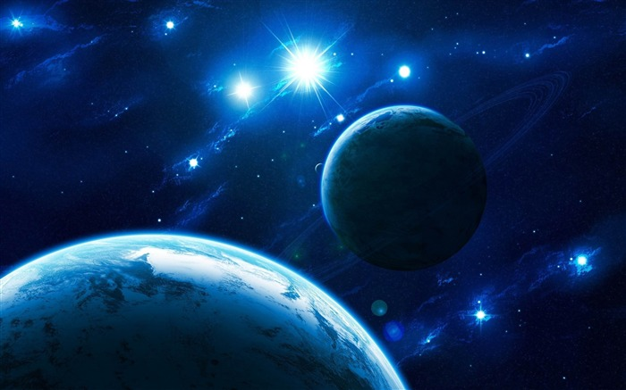 shining stars-Space Discovery HD Wallpaper Views:2576
