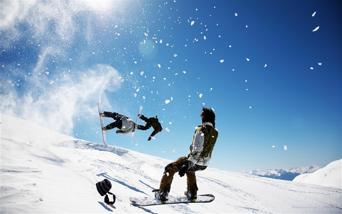snowboard tricks guys snow-Sports HD Wallpaper Views:3853