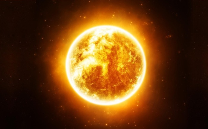 sun stars-Space Discovery HD Wallpaper Views:2658