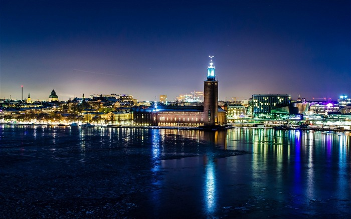 sweden stockholm winter-Cities architectural photo wallpaper Views:2103