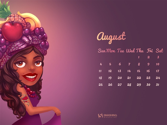 Autumn Is Just Around the Corner-August 2013 calendar wallpaper Views:4092