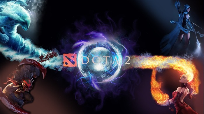 DOTA 2 Game HD desktop wallpaper Views:5840