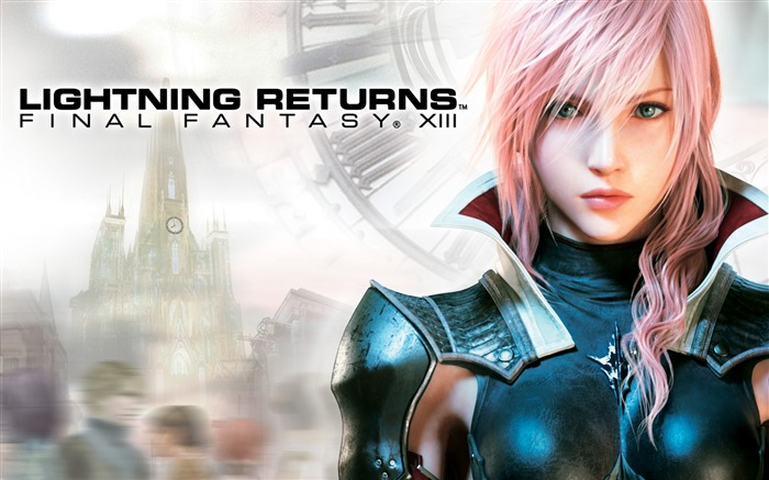 LIGHTNING RETURNS FINAL FANTASY XIII HD Wallpaper Views:20700