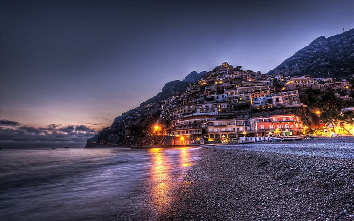 Positano waterfront landscape photos wallpaper Views:8181