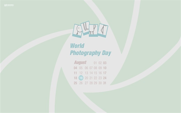 World Photography Day-August 2013 calendar wallpaper Views:1927