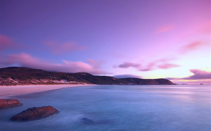 coast land sea sky-landscape HD wallpaper Views:2798