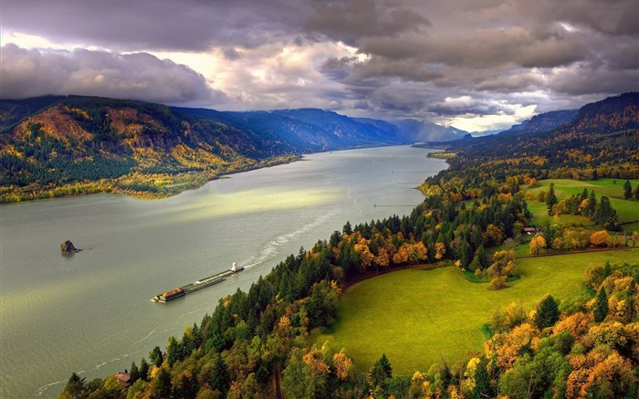 columbia river-Best Scenery HD Wallpaper Views:3203