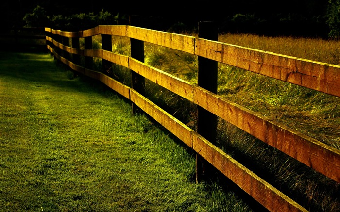 countryside fence-Best Scenery HD Wallpaper Views:4223