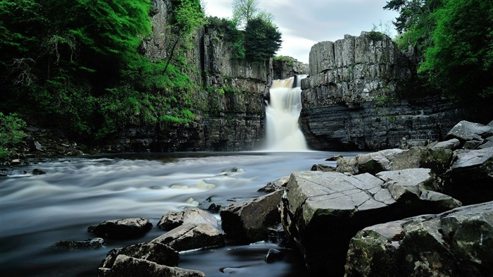 high force waterfall england-Best Scenery HD Wallpaper Views:2736