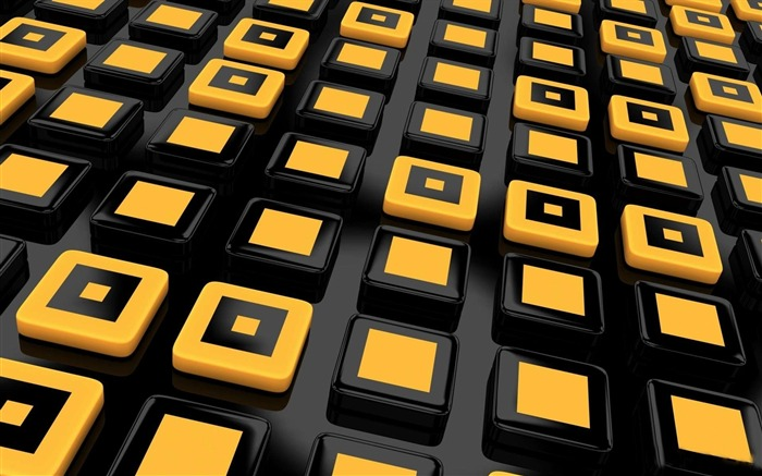 squares yellow lines-Design HD wallpaper Views:1846