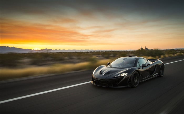 2014 McLaren P1 Car HD Desktop Wallpaper Views:11788