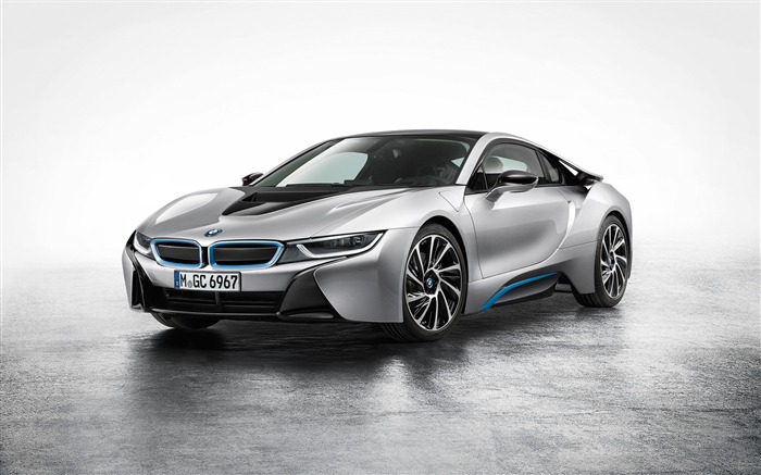 2015 BMW i8 Car HD Desktop Wallpaper Views:8519