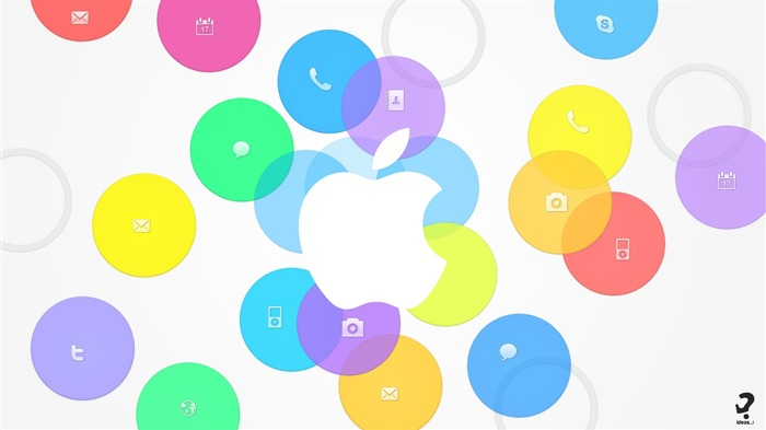 Apple iOS 7 iPhone 5S HD Desktop Wallpaper 29 Views:1654