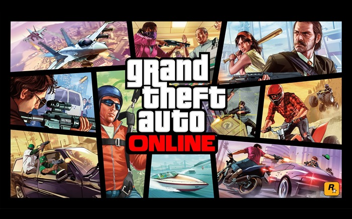 Grand Theft Auto V GTA 5 Game HD Wallpaper Views:10317