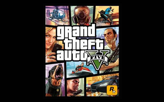 Grand Theft Auto V GTA 5 Game HD Wallpapers Views:3317