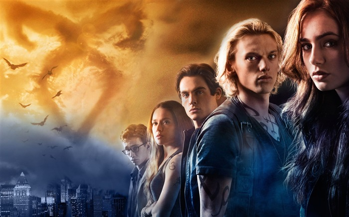 The Mortal Instruments City of Bones Movie HD Wallpaper Views:7938