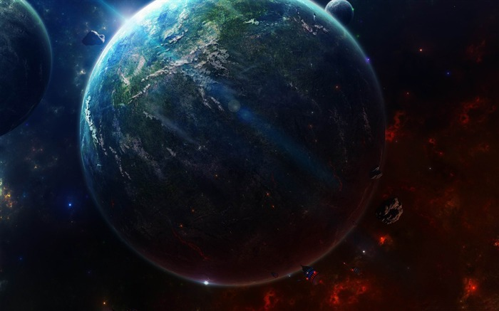 earth from space-Universe HD Wallpaper Views:6913