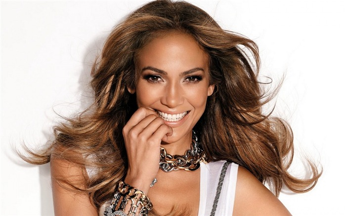 face smile jennifer lopez-Beauty photo HD wallpaper Views:2365