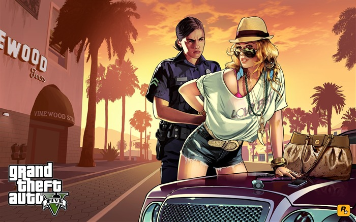 frisk me-Grand Theft Auto V GTA 5 Game HD Wallpapers Views:6861