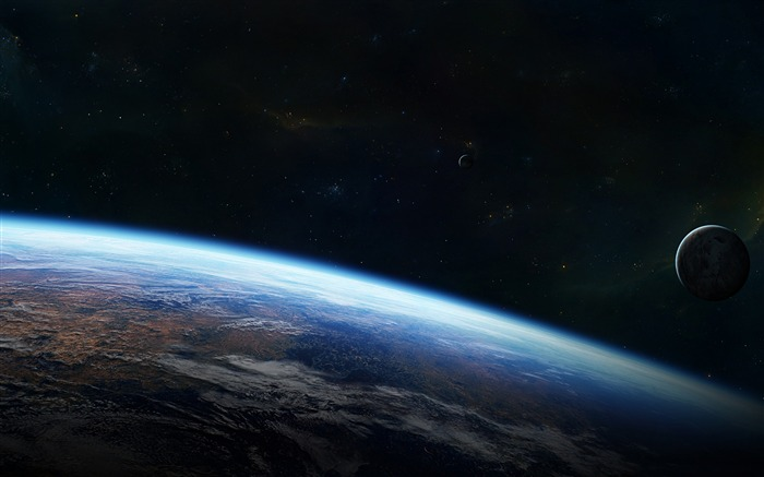 outside orbit-Universe HD Wallpaper Views:4697